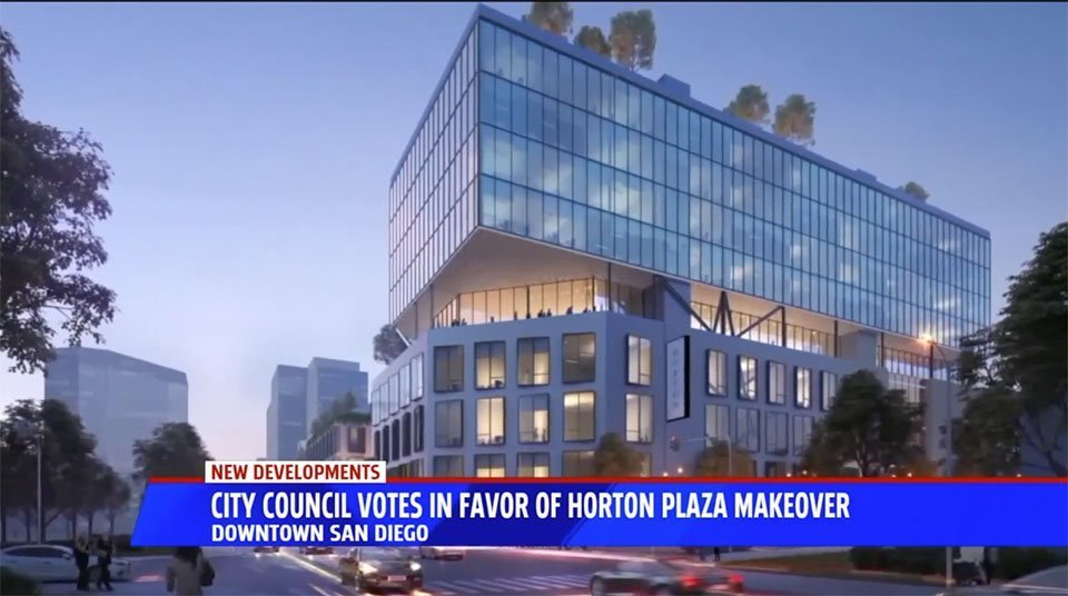 Horton Plaza Makeover